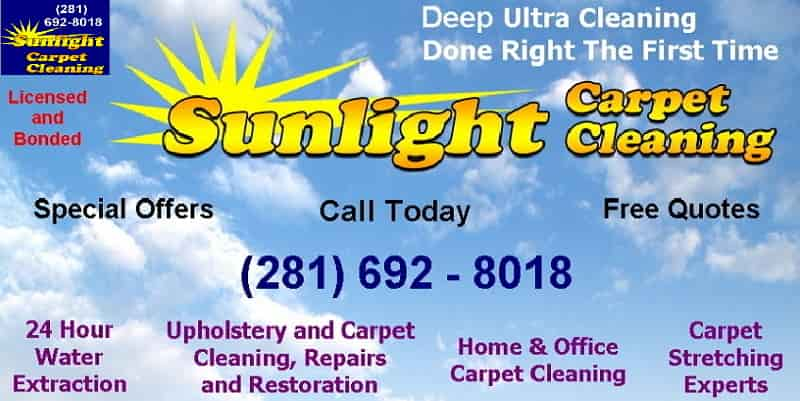 Houston Texas home carpet cleaning